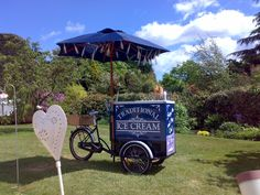 ice cream tricycle   chilli pepper events ltd #TipiWedding #StreetFood