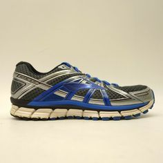 ea9955ec3aeba Brooks GTS 17 US 9 EU 42.5 Wide 2E Blue Athletic Running Training Mens Shoes