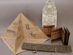 folded book, pyramid book, mummy book-susan gaylord