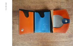「カワセミ2」 小さいふ 極小財布 ペケーニョ Wallet, Purses, Diy Wallet, Purse