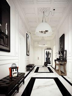 Luxe hal design inspiratie - Lifestyle NWS