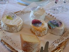 Fromages normands.