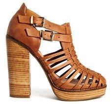 Asos WALK THE LINE Shoe Boots - Tan on shopstyle.co.uk