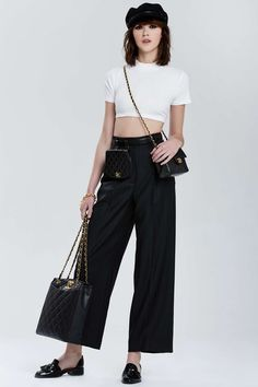 Vintage Chanel Bruay Pinstripe Trousers | Shop Vintage at Nasty Gal