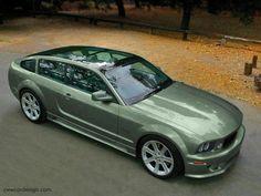 Mustang Concept Car.