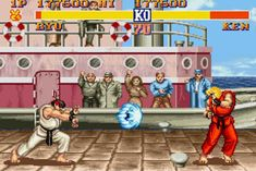 You agonised over whether to be Ryu or Ken