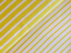 Bio-Interlock (GOTS),gelb,weiß,100%Bio-Baumwolle von internaht - Stoffwerkstatt auf DaWanda.com