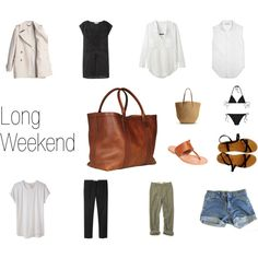 """Long Weekend... At the Beach."" by keelyhenesey on Polyvore"