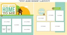 Lisa Bearnson Celebrate You are my Home Layout