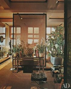 <i>AD</i> Revisits: François Catroux's Paris Apartment
