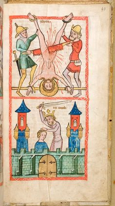 Speculum Humanae Salvationis | northwest Germany (c. 1360)