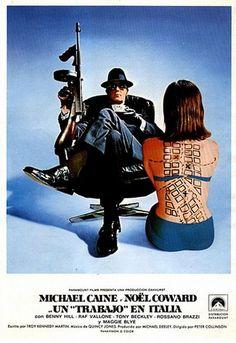 'The Italian Job' - film poster, 1969.