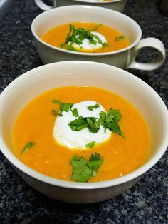 Recipe | Butternut Squash Soup ~ with Roasted Red Peppers