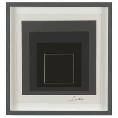 """""""White Line Square VIII"""" by Josef Albers 