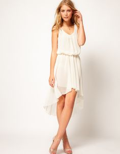 chiffon hi lo maxi dress ++ love