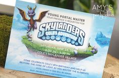 "Photo 2 of 38: Skylanders / Birthday ""Skylanders Birthday Party Adventure""   Catch My Party"