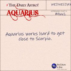 Daily astrology fact from The Daily Astro! Aquarius, have you seen today's horoscope???   Visit iFate.com now!  And for all today's Daily Astro cards, check out thedailyastro.com !