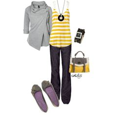"""""""Fall Classes"""" by adelaet on Polyvore"""