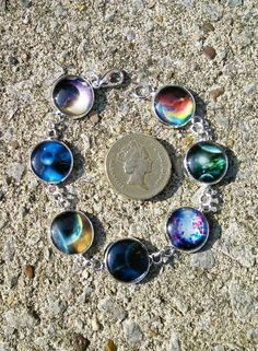 Out of this world bracelet £10.00  £1 coin not included...