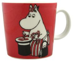 Antikvarat: Annons - -Mugg från i gott skick Moomin Mugs, Funny Cups, Tove Jansson, Beverage Packaging, Fika, Chipmunks, Finland, Packaging Design, Kopper