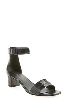 Vince 'Rita' Leather Ankle Strap Sandal (Women) available at #Nordstrom