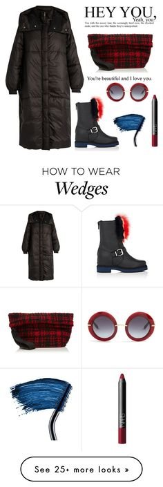 """Winter Boots"" by erindream on Polyvore featuring STELLA McCARTNEY, Fendi, Lancôme, Marni, Dolce&Gabbana and NARS Cosmetics"