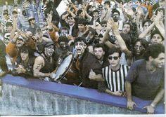 SSC Napoli vs PAOK FC | PAOK power | (1988) Old School, Athletes, Fans, Football, Painting, Futbol, American Football, Painting Art, Followers