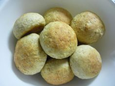 Maistuvat kaurasämpylät - Kotikokki.net - reseptit Batch Cooking, Ravioli, Couscous, Feta, Biscuits, Potatoes, Vegetables, Recipes, Tuli