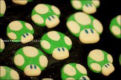 Super Mario World Shrooms biscuits