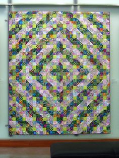 kaffe fassett quilt...love the colors
