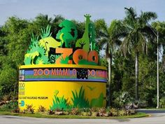 Zoo Miami Sign