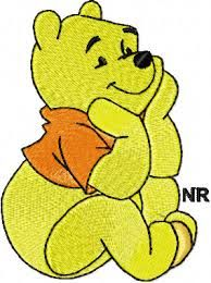 free disney embroidery designs winny the pooh Megaupload MediaFire Machine Embroidery Thread, Learn Embroidery, Free Machine Embroidery Designs, Embroidery Stitches, Embroidery Tattoo, Brother Embroidery, Embroidery Alphabet, Embroidery Supplies, Diy Broderie