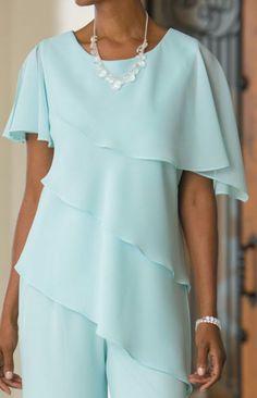 50 Fashion, High Fashion, Formal Pants, Blouse Patterns, Boss, Wedding Day, Plus Size, Skirts, Outfits