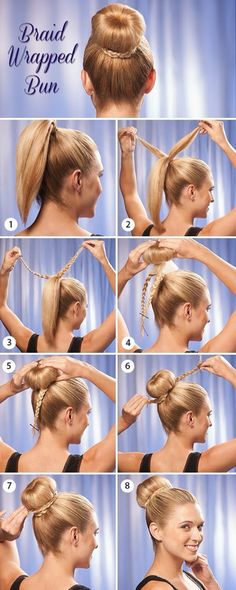 up do your hair, with Bun styles!