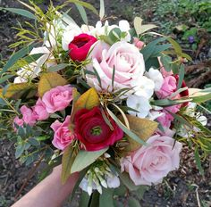Bridesmaid bouquet #meijerroses #sweetavalanche