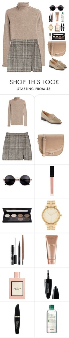 """""""Where you at?"""" by krys-imvu ❤ liked on Polyvore featuring Vince, Saks Fifth Avenue, Parfois, Witchery, Michael Kors, MAC Cosmetics, La Mer, Gucci, Maybelline and Max Factor"""