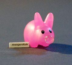 Happy-Mini-Labbits-Kidrobot-Kozik-Pink-with-Bubble-Gum-2-25-Rarity