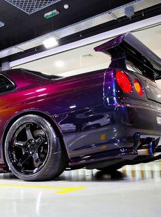 Nissan Skyline R35, Nissan Gtr R34, R34 Gtr, R34 Skyline, Japanese Sports Cars, Japanese Cars, Street Racing Cars, Jeep Cars, Tuner Cars