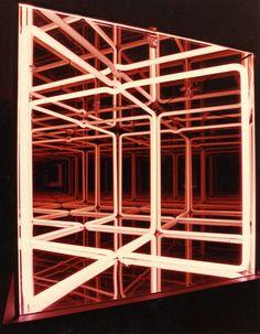 Paolo Scirpa/ Biographie, Ludoscopio cubico multispaziale Espansione   traslazione 1987.