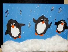 Penguin craft ideas for kids: preschoolers, kindergarten and toddlers. Penguin projects for adults. Fun and easy craft a Christmas Art Projects, Winter Art Projects, Winter Crafts For Kids, Holiday Crafts, Art For Kids, Winter Fun, Kids Crafts, Craft Projects For Adults, Craft Ideas