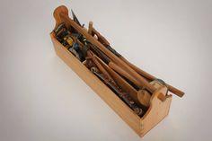 traditional carpenter's tool box