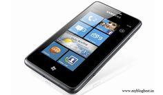 samsung omnia M windows 7.5 Mango smartphone