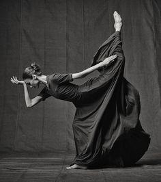 "Art project ""Svetlana Zakharova. Freeze frame"", by Russian photographer Vladimir…"