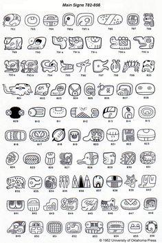 A Catalog of Maya Hieroglyphs by J. Eric S. Thompson