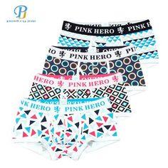 Pink Heroes 4pcs lot Men Underwear Boxers Fashion Sexy Cotton Men Boxer U  Bag Brand 519829a33
