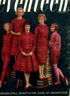 Seventeen August 1958 Giant Fashion Issue, John Saxon by Enid Haupt http://www.amazon.com/dp/B002HGC0PI/ref=cm_sw_r_pi_dp_mynQtb19AD3S3S8P