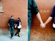 Karolyn & Alex's engagement session photographed by Brittany with Cascio Photography