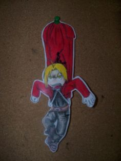 Paper Child Edward by ~ImmortalAlchemist on deviantART
