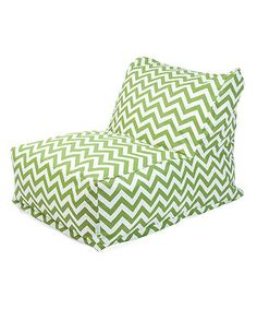 Another Great Find On Zulily Sage Zigzag Indoor Outdoor Bean Bag Lounger By