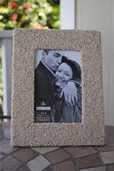 Sandy Beach Picture Frame 4x6 by sandybeachdecor on Etsy, $23.00